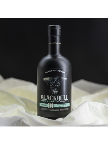 Black Bull 10 year Rum Finished 50% 70cl
