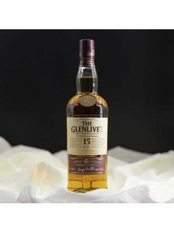 Glenlivet 15 yo  French Oak Reserve 40% 70cl