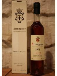 Armagnac Nismes Delclou 1971 40% 50cl