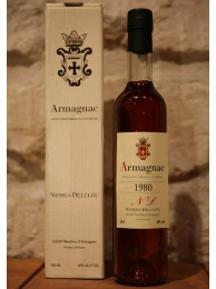 Armagnac Nismes Delclou 1980 40% 50cl