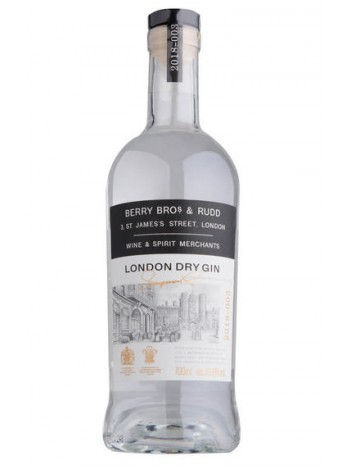 BBR London Dry Gin 40.6% 70cl