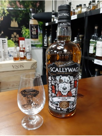 Scallywag (HK Edition) 51.4% 70cl (with free whisky glass)