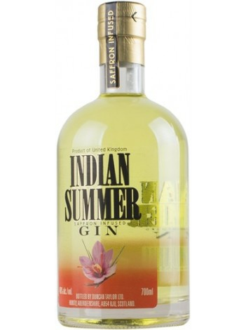 Indian Summer Saffron Infused Gin 46% 70cl