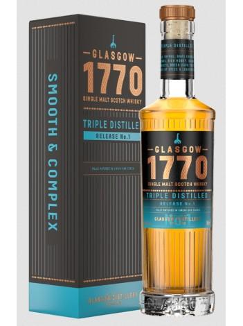 Glasgow 1770 Triple Distilled: Release No.1 46% 50cl