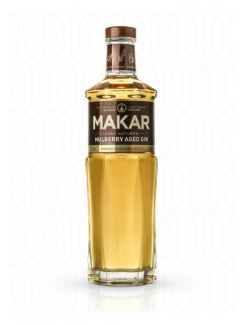 Makar Mulberry Aged Gin 43% 50cl