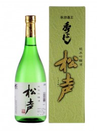 Hideyoshi 秀吉 松聲純米吟釀 72cl