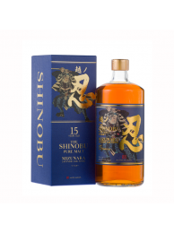 Shinobu 忍 Pure Malt  15 Years Mizunara finish 43% 70cl