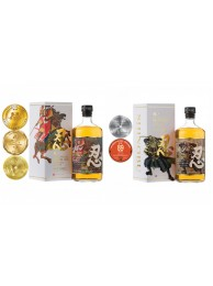 Shinobu 忍 Blended Whisky Mizunara finish 43% 70cl + Shinobu 忍 Pure Malt Mizunara finish 43% 70cl