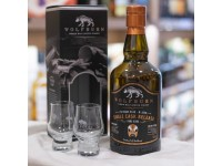 Wolfburn Single Cask PX Sherry Cask Strength HK Edition 70cl with 2 perfect dram glasses