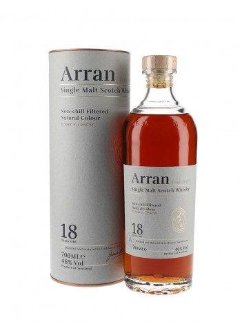 Arran 18 Year Single Malt Scotch Whisky 46% 70cl
