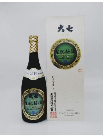 Daishichi Kimoto Umeshu 大七 生もと梅酒 2016 極上品 720MLv