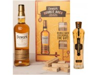 Dewar 15 Year 70cl Gift Pack + 層層疊遊戲套裝 +  聖杰曼接骨木花酒 St-Germain 200ml