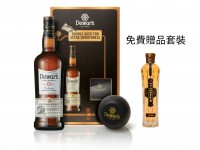 Dewar 12 Year 70cl Gift Pack + 冰球模具 +  聖杰曼接骨木花酒 St-Germain 200ml