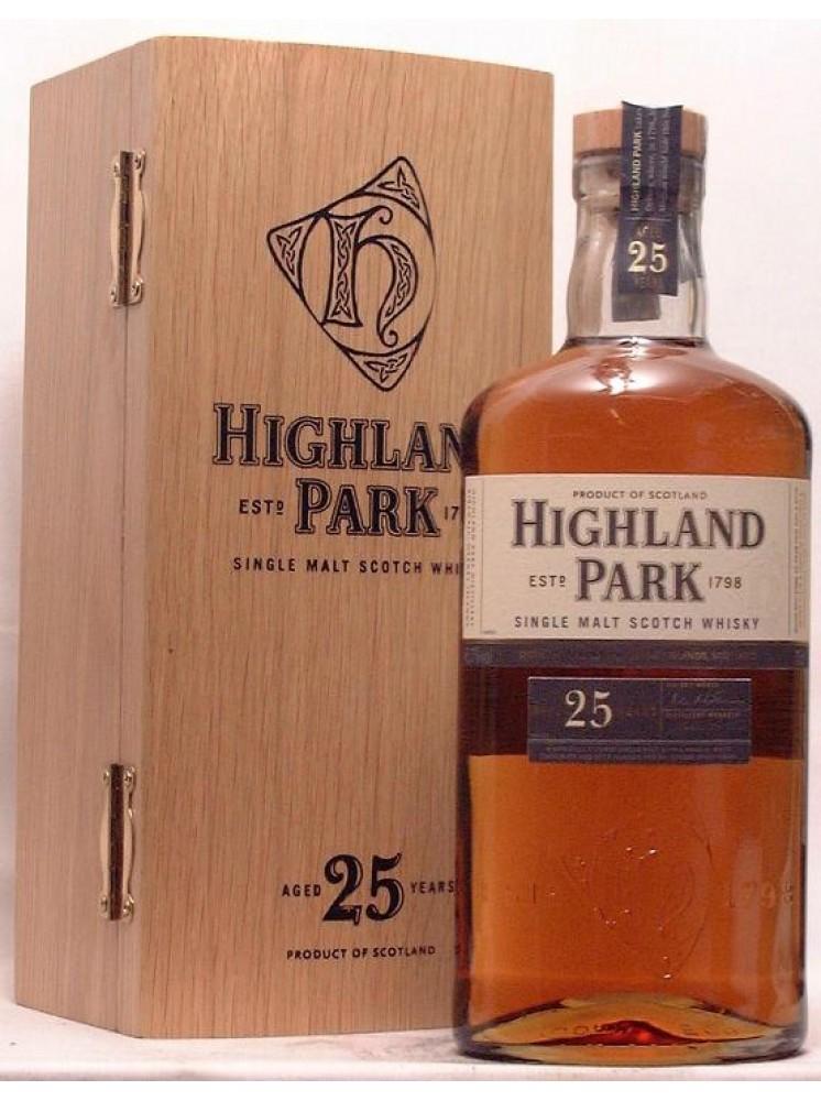 6fd4a5ee4a8 Highland Park 25 Year Old Single Malt Scotch Whisky 70cl   48.1%