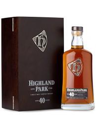 Highland Park 40 Year Old Single Malt Scotch Whisky 70cl / 48.3%