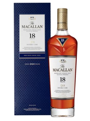 The Macallan 18 Year Double Cask Single Malt 43% / 70cl
