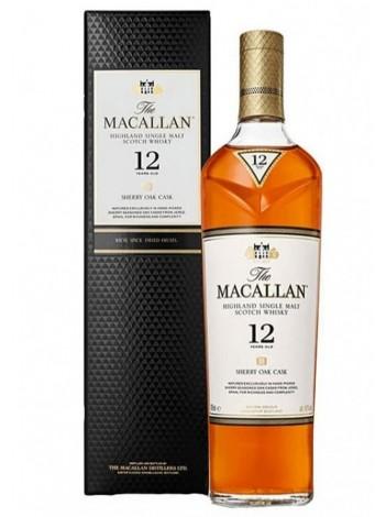 The Macallan 12 Year Old Sherry Oak Single Malt  40% / 70cl