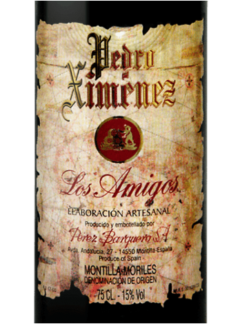 Perez Barquero Los Amigos Pedro Ximénez 17% 500ml