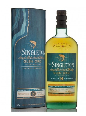 Singleton Glen Ord 14 year 2018 Limited Edition  57.6% 70cl